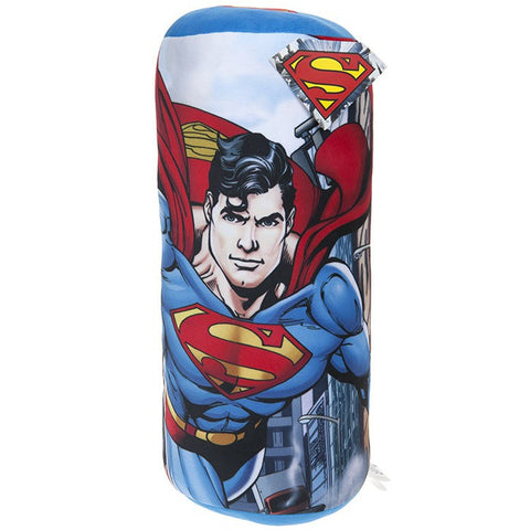 Superman Character Bolster Cushion 40 cm Multicolor