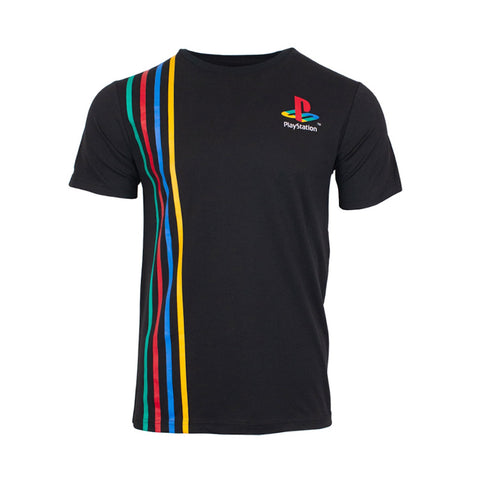 Official PlayStation Stripes T-Shirt