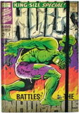 Hulk Comic Cover Notebook A5