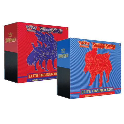 Pokemon TCG Sword & Shield Elite Trainer Box (Assorted 1 Piece)