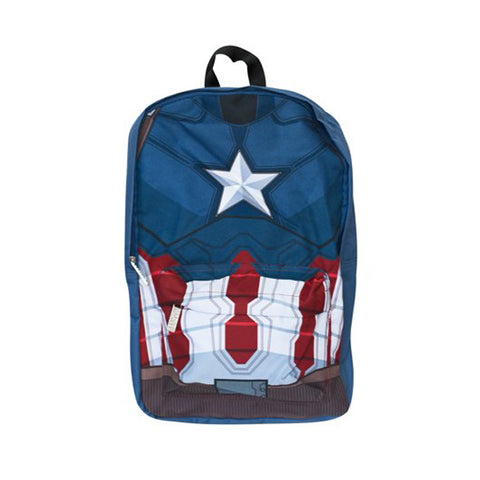 Civil War Armor Captain America Backpack