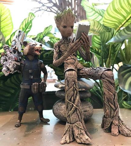 Marvel Groot & Rocket Sixth Scale Figure
