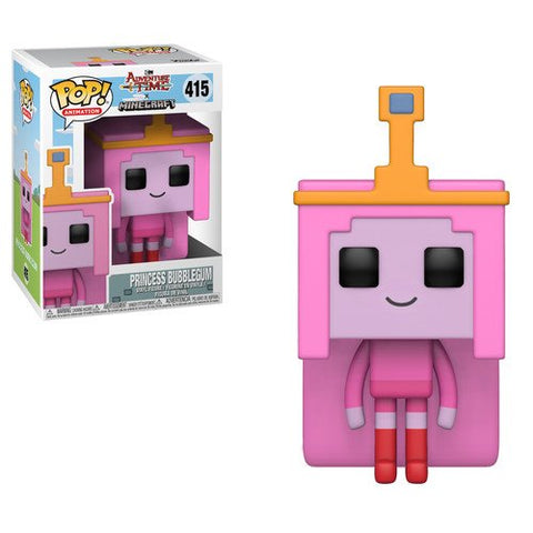 Funko POP! Minecraft Adventure Time Princess Bubblegum Vinyl Figure