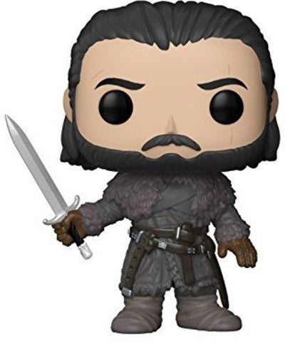 Funko POP Game of Thrones John Snow Beyond The Wall Vinyl Figure