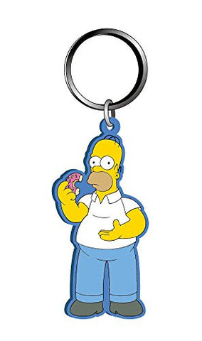 The Simpsons Homer Soft Touch Key Chain