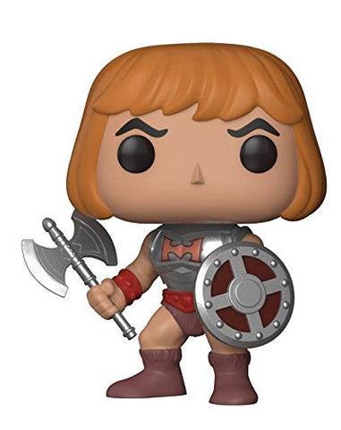 Funko POP Masters of the Universe HE MAN With Damaged Armor Vinyl Figure