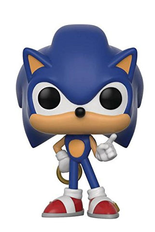 Funko POP Sonic The Hedgehog with Ring Vinyl Figure