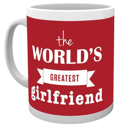 Valentines World's Greatest Girlfriend Mug