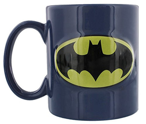 Batman Logo Embossed Mug