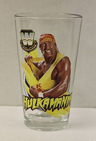 Hulk Hogan Legends WWE 'Toon Tumbler 16 oz. Pint Glass