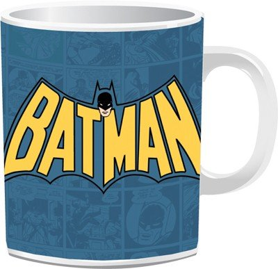 Batman Comics Logo Mug