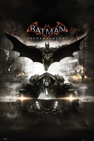 Batman Arkham Knight Cover Poster