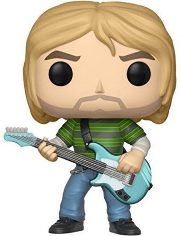 Funko POP! Kurt Cobain In Striped Shirt Vinyl Figure
