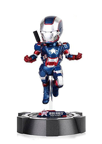 Iron Man Iron Patriot Light-Up Egg Attack Statue
