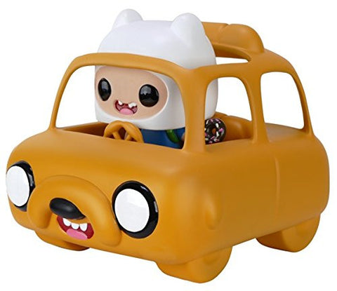 Funko Pop Rides: Adventure Time - Jake Car & Finn Action Figure