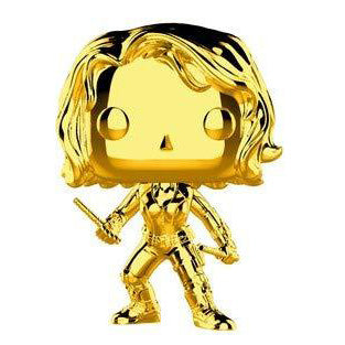 Funko POP! Marvel 10th Anniversary Chrome Black Widow Vinyl Figure