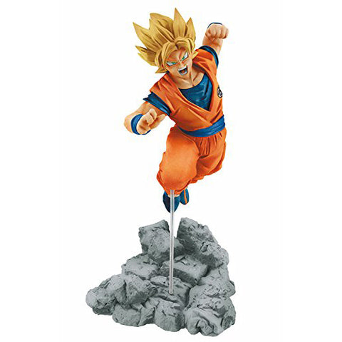 Dragon Ball Z - Super Saiyan Goku Soul X Soul Figurine