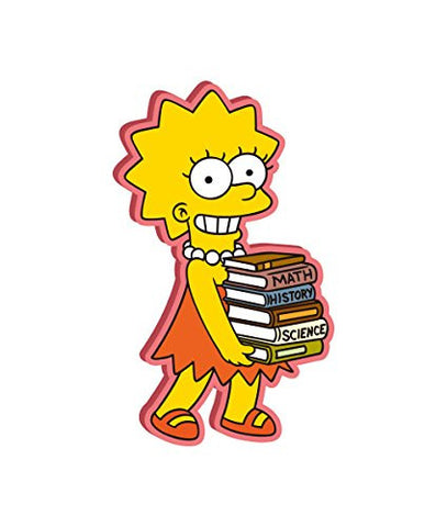 The Simpsons Lisa Soft Touch PVC Magnet