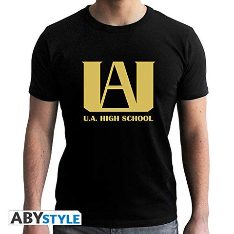 My Hero Academia U.A. High School Black T-Shirt