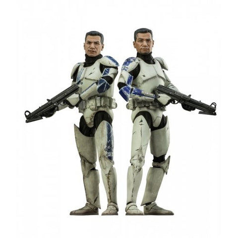 Star Wars Clone Troopers Echo and Fives Sixth Scale Figure Set