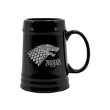 Game Of Thrones House of Stark Winter is Coming Ceramic Stein Mug