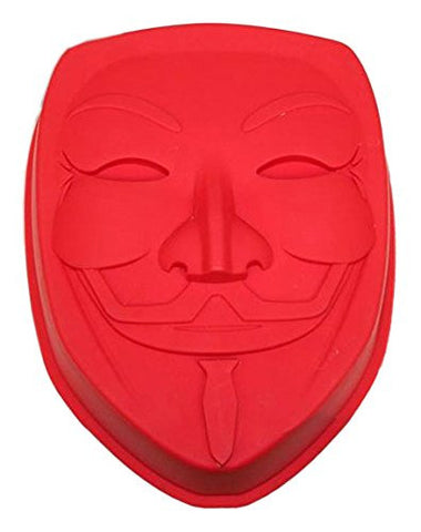 V for Vendetta Silicone Baking Tray Guy Fawkes Mask