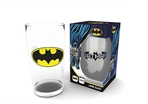 Batman Logo Print Glass