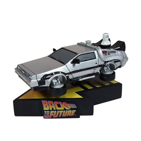 Back to the future Flying Delorean Shakems Statue