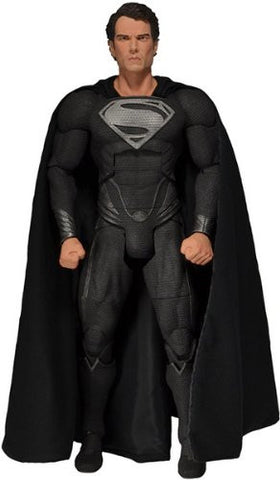 Man Of Steel 1/4th Scale Figure Black Suit Superman