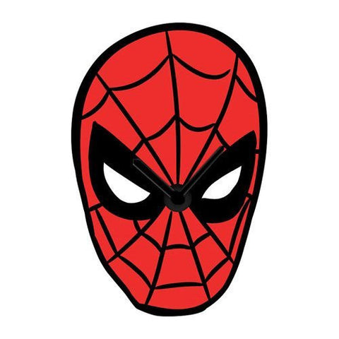 SpiderMan Face Wobble Wall Clock