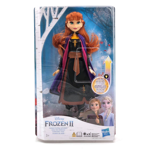 Disney Frozen 2 Anna Autumn Swirling Adventure - Light up Figure