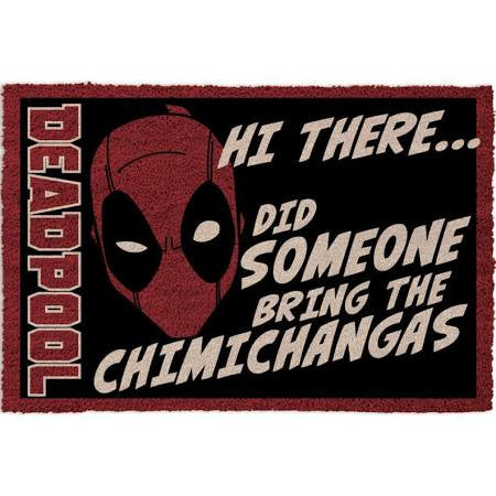 Deadpool Chimichangas Doormat