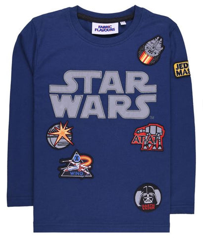Star Wars Reflective Logo Badge T-Shirt