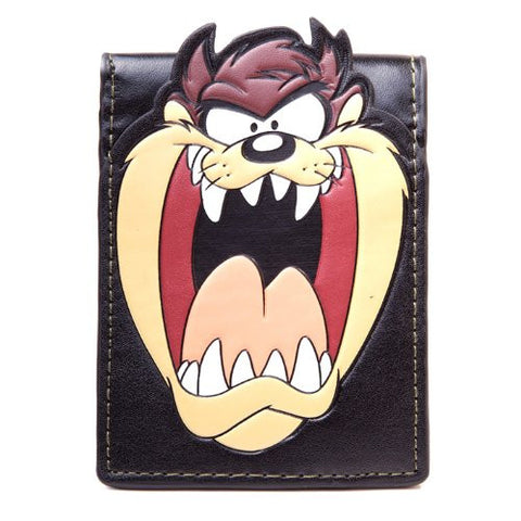 Looney Tunes Taz Big Face Bifold Wallet