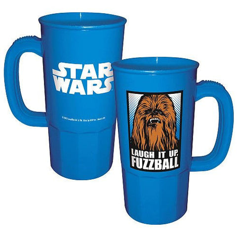 Icup, Inc.Star Wars Chewbacca Laugh It Up Fuzzball Plastic Stein