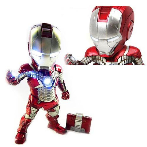 Iron Man Mark V Light-Up Egg Attack Statue