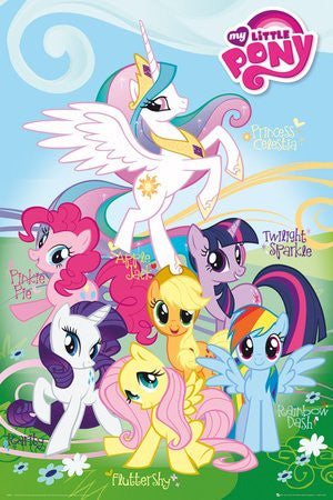 My Little Pony Names Poster