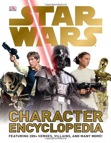 Star Wars Character Encyclopedia Hard Cover