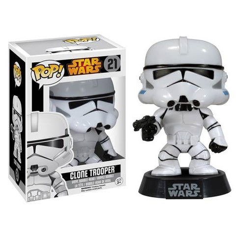 POP Star Wars Clone Trooper Vinyl Bobble Head