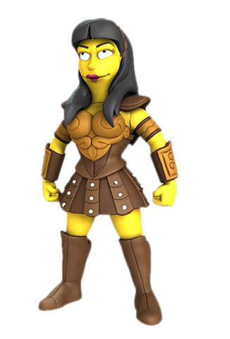 The Simpsons Lucy Lawless 25th Anniversary