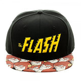 Flash Halftone Snapback Cap