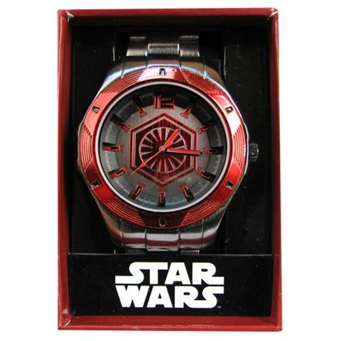 Star Wars Episode VII The Force Awakens Red Icon Men's Watch