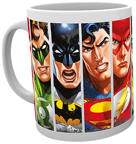 DC Justice League Faces Mug