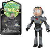 Rick and Morty Morty Purge Suit Action Figure