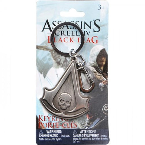 Assassin's Creed 4 Keychain Skull Crest
