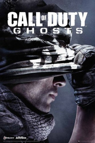 Call of Duty Ghosts Cover Poster
