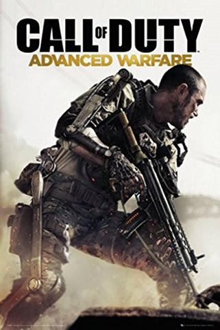 COD Advanced Warfare Cover Poster