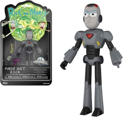 Rick and Morty Rick Purge Suit Action Figure