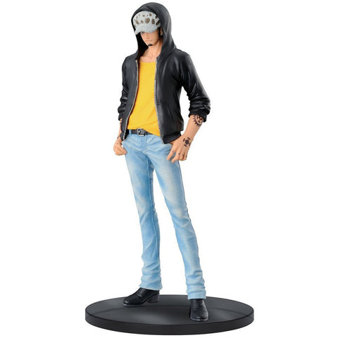 Banpresto Trafalgar Law Figure A Jeans Freak Series Volume 4 Figure