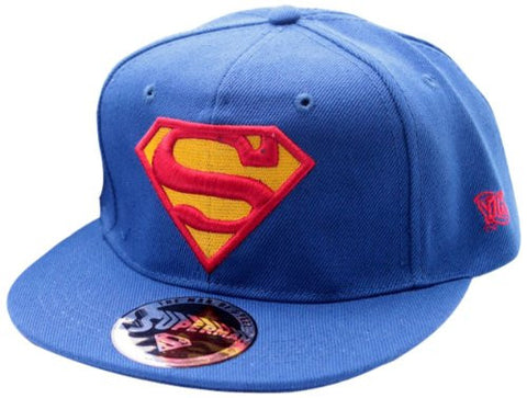Superman Red Logo Marine Cap